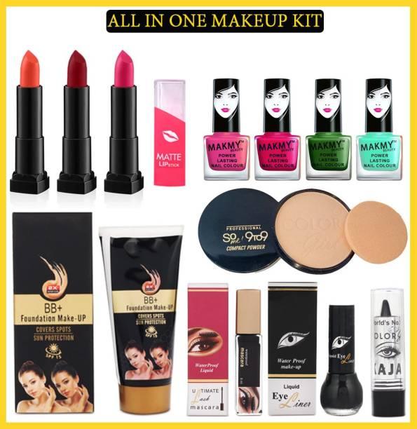 MAKMY BEAUTY All In One Makeup Kit Set of 12 For Women MBMKD203