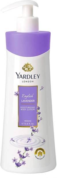 YARDLEY English Lavender Body Lotion For Women 350 Ml *1 Pcs
