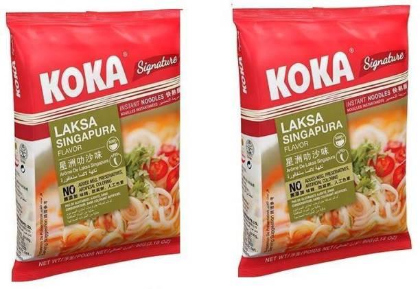 KOKA Laksha Sinhapura Flavour Instant Noodles - (Pack of 2) Instant Noodles Non-vegetarian