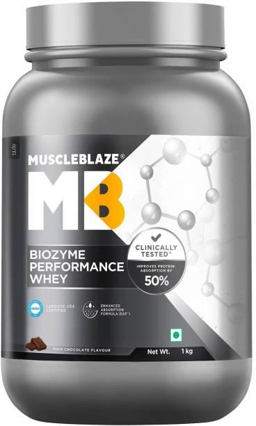MUSCLEBLAZE Biozyme Performance Whey Protein (2.2 lb/ Whey Protein