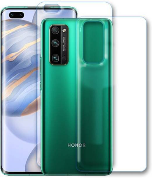 WARSI AYURVDIC SHAFAKHANA Front and Back Tempered Glass for HONOR V30 PRO