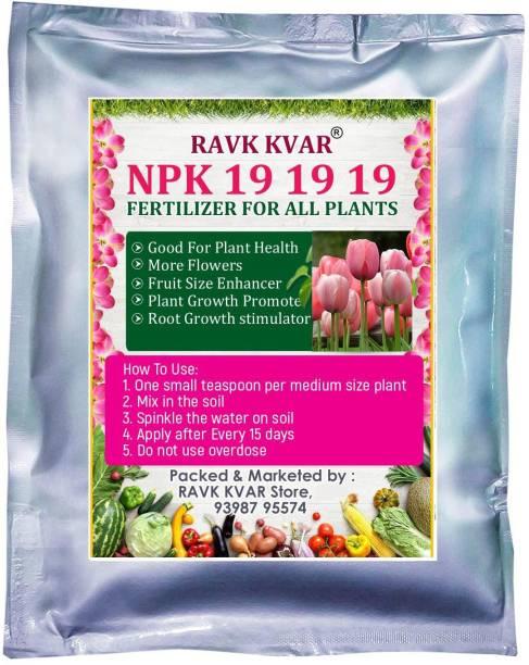 RAVK KVAR NPK 19 19 19 Fertilizer for Potted Plants and Gardening Plants (Water Soluble) Fertilizer