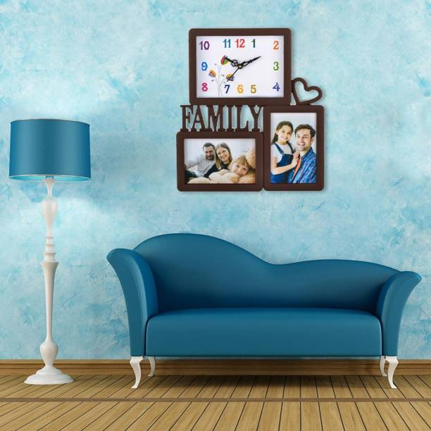 Micacchi Analog 32 cm X 29 cm Wall Clock