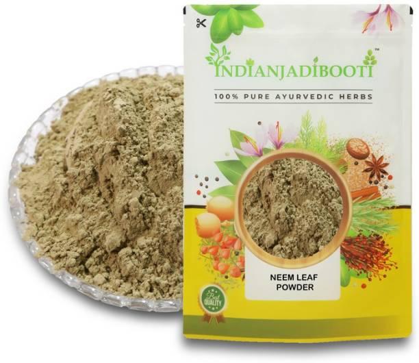 IndianJadiBooti Neem Leaves Powder - Neem Patta Powder - Azadirachta Indica