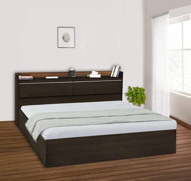 Delite Kom Pearl Engineered Wood King Box Bed