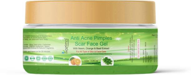 KAZIMA Anti Acne Pimples Scar Face Gel (150ml)