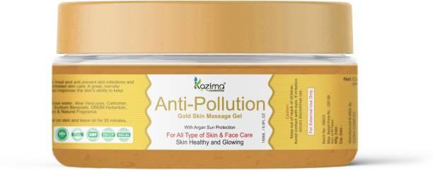 KAZIMA Anti-Pollution Gold Skin Massage Gel (150ml)