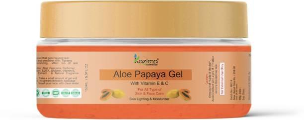 KAZIMA Aloe Papaya Gel With Vitamin E & C (150ml)