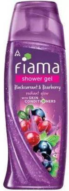 FIAMA shower gel blackcurrant & bearberry with skin conditioners