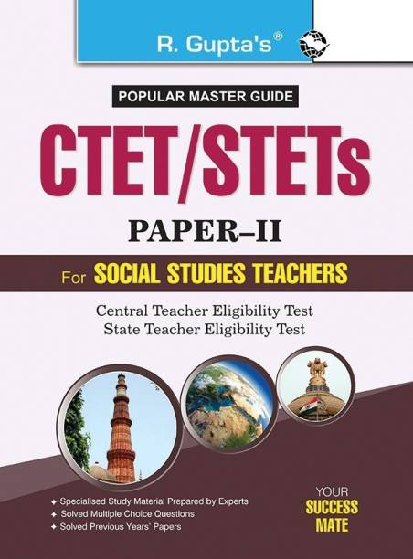 Ctet/Stets (Paper-II) Popular Master Guide - (For Classes VI to VIII) Elementary Stage for (Social Studies Teachers) Exam Guide 2022 Edition