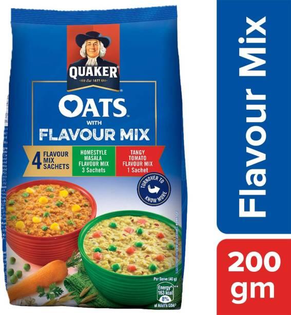 Quaker Oats with Flavour Mix
