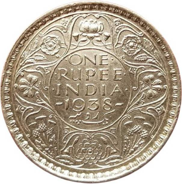 Numismatic unc one rupees 1938 Modern Coin Collection