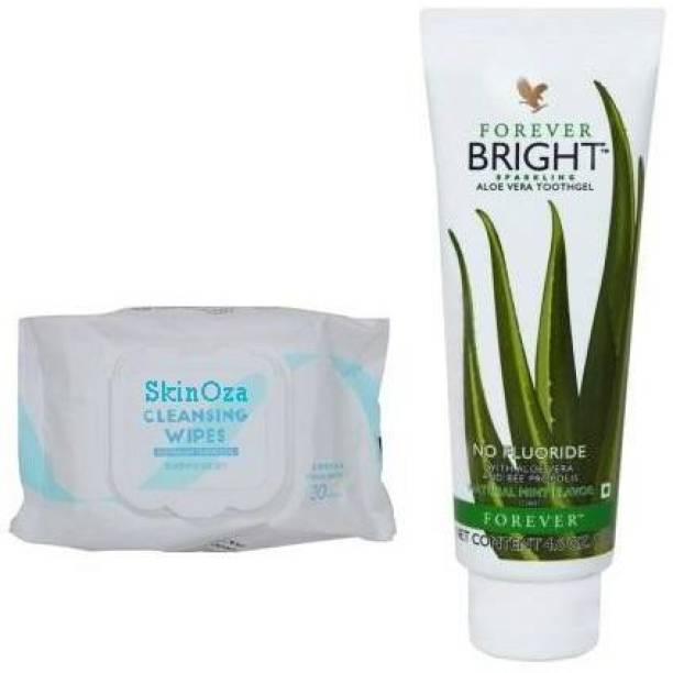 SkinOza FOREVER Living Aloe Vera Natural Bright Toothgel