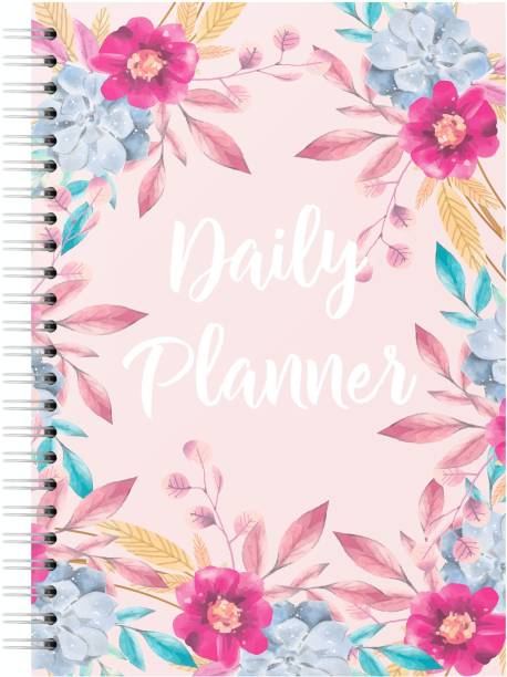 Lauret Blanc A5 Daily Planner, To Do list, Gratitude Journal- 160 Pages, 80 GSM. Plan for 80 days A5 Planner Ruled 160 Pages
