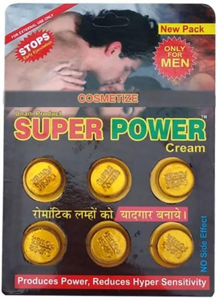 cosmetize FDHG545 _Super Power Cream Time Delay Cream CFH45 9 g