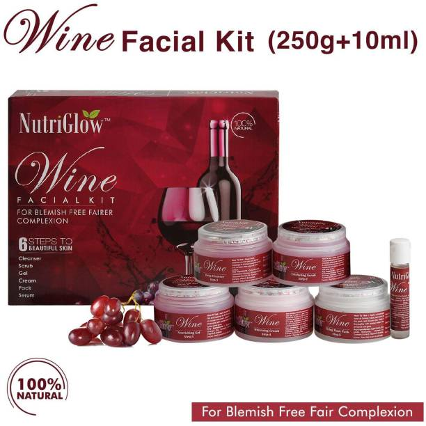 NutriGlow WINE FACIAL KIT