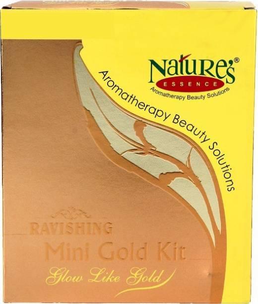 Nature's Essence Ravishing Gold Mini Facial Kit