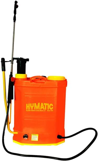 HYMATIC Battery Operated Dual Operated 2 in 1 Garden Sprayer MADE IN INDIA 16 L Backpack Sprayer