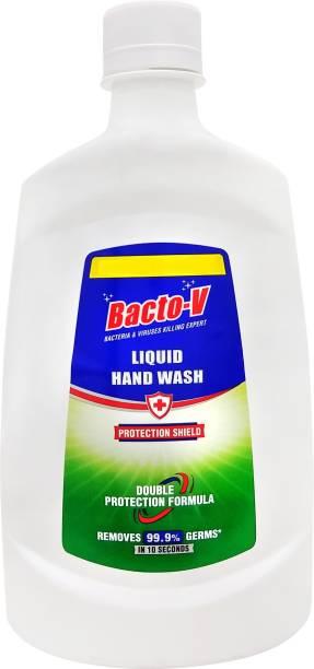 Bacto-V Protection Shield Hand Wash Bottle