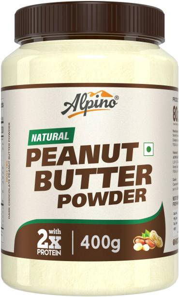ALPINO Natural Peanut Butter Powder Unsweetened 400 g