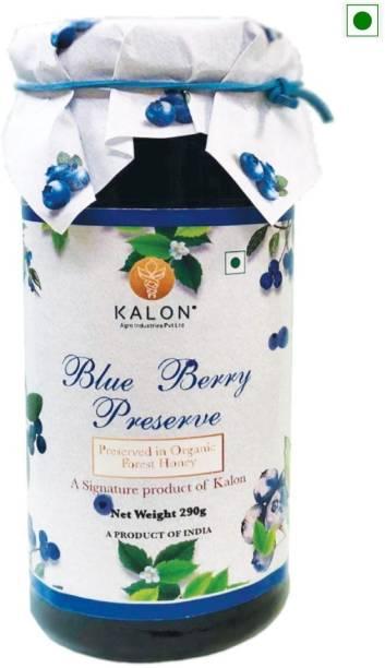 Kalon Blueberry Fruit Preserve - Honey Fruit Spread / Jam - No added Sugar 290 g
