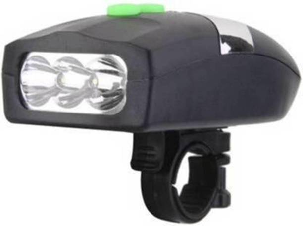 Afpin 3 Mode Bicycle Light + Horn Set LED Front Light