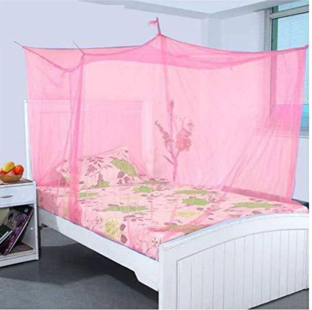 AP KARUR Nylon Adults Mosquito Net, 100% Air Flows(King or Queen Size) Mosquito Net