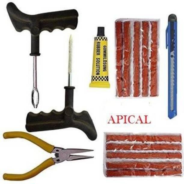 APICAL complete puncture repair kit Tubeless Tyre Puncture Repair Kit