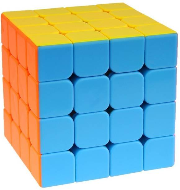 D ETERNAL 4x4x4 High Speed Stickerless Magic Puzzle Cube