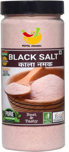 Vestal Organic Fresh&Real Black Salt Black Salt