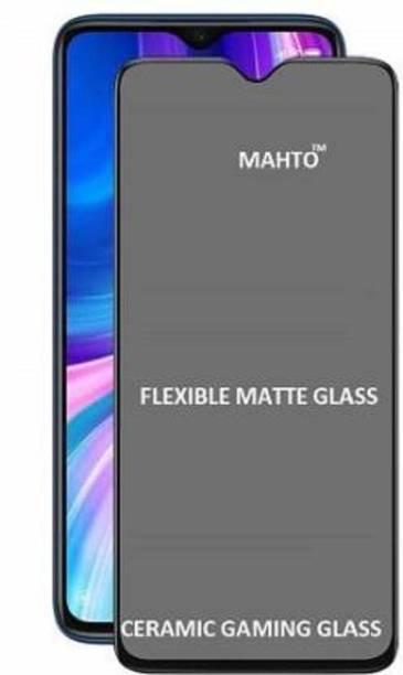 Foncase Edge To Edge Tempered Glass for Realme Narzo 20, Realme Narzo 20A, Realme C11, Realme C12, Realme C15, Realme C3, Realme 5, Realme 5i, Realme 5s, Oppo A9 2020, Oppo A5 2020, Realme Narzo 10, Realme Narzo 10A, Oppo A31, Realme Narzo 30A, Realme Narzo C25, Realme Narzo C20, Realme Narzo C21 matte glass