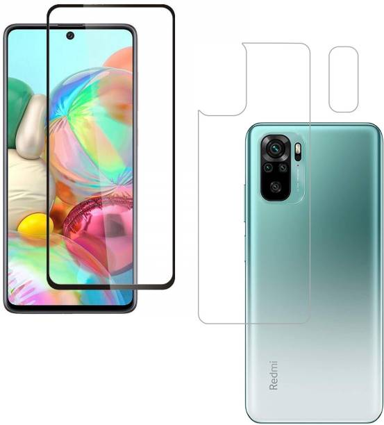 Vatsin Front and Back Tempered Glass for Redmi Note 10