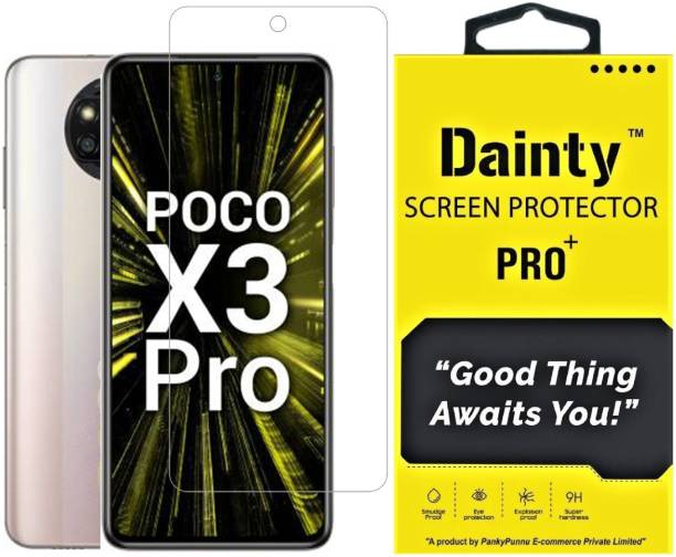 Dainty TECH Tempered Glass Guard for Poco X3 Pro