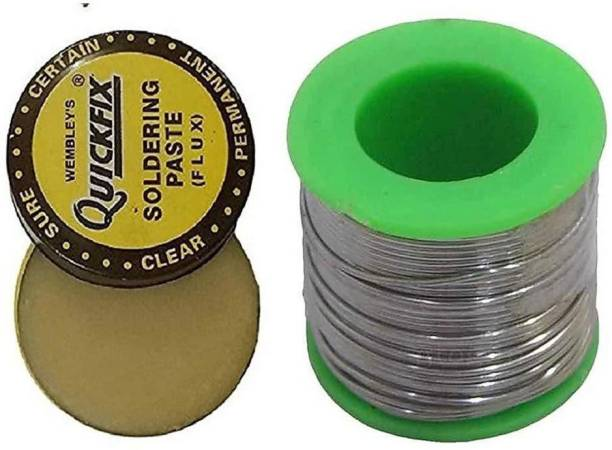 IKIS Engineer Choice Electronic Soldering wire 50 Grams Reel Solder + 15gm Flux 25 W Simple 25 W Simple