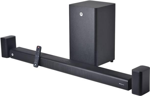 MOTOROLA AmphisoundX Dolby ATMOS with Wireless Surround Sound 500 W Bluetooth Soundbar