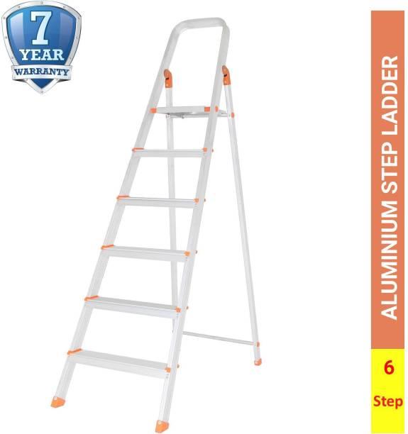 ALNICO 6 Step With 7 year Warranty Aluminium Ladder