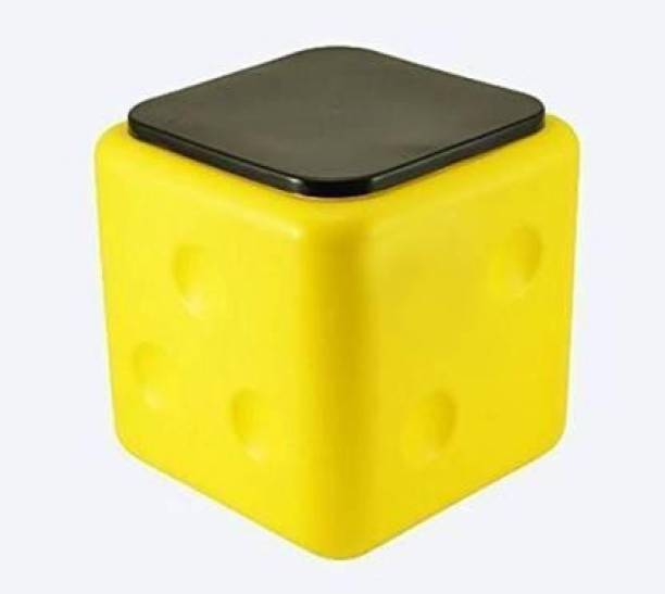 KHODIYAR STORE Plastic Dice Stool, Sittting Stool with Anti-Skid Rubber in The Base Top Surface Living & Bedroom Stool