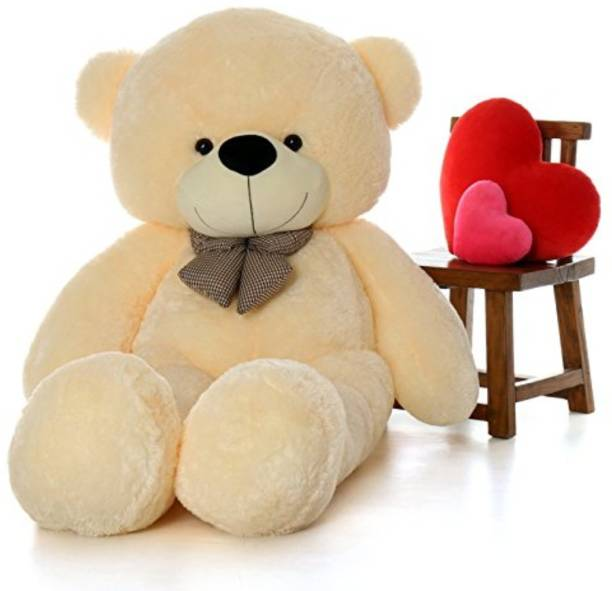 Lovebug Cute Bootsy Creem 90 Cm 3 feet Huggable And Loveable For Someone Special Teddy Bear  - 90 cm