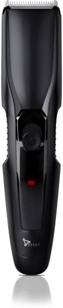 Syska HT1210-Black  Runtime: 40 min Trimmer for Men