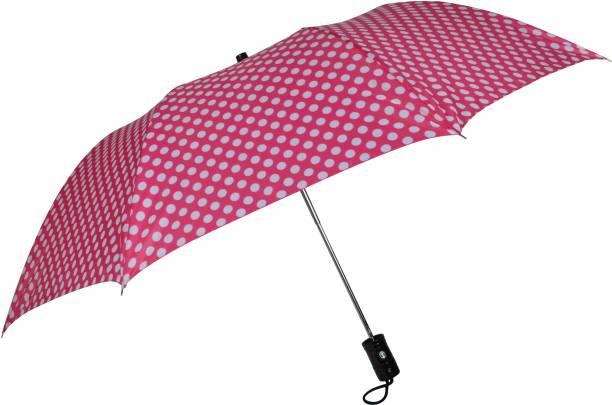 Fendo Delma 24.5 Inch 2 Fold Auto Open Medium Umbrella
