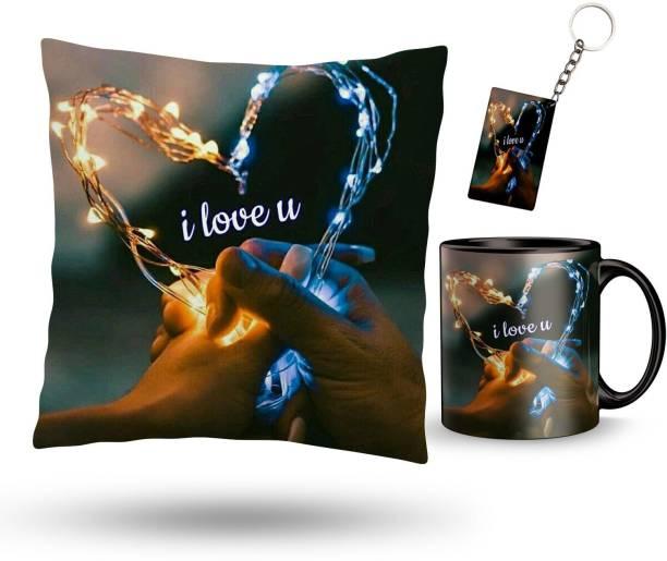 NAWEMA Cushion, Keychain, Mug Gift Set
