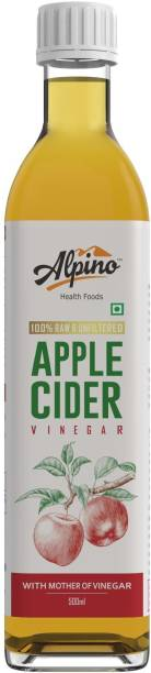 ALPINO Apple Cider Vinegar 100% Raw & Unfiltered Vinegar