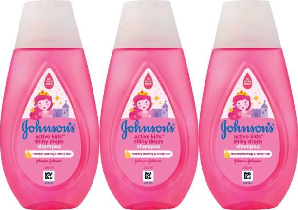 JOHNSON'S Active Kids Shiny Drops Shampoo_1