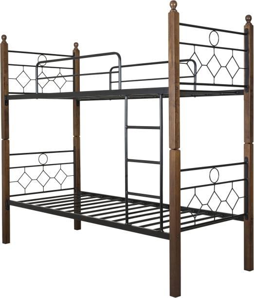 FurnitureKraft Manila Metal Single Bed