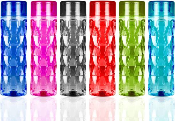 Centureum Multicolor Water Bottles 1000 ml Bottle