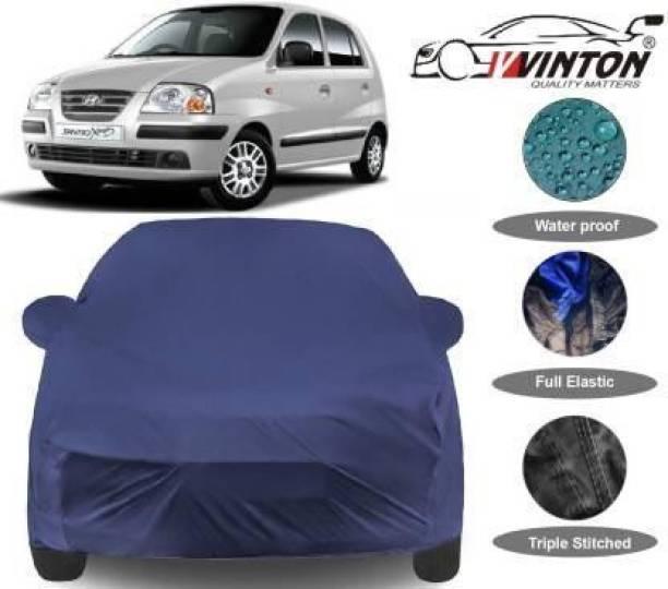 V VINTON Car Cover For Hyundai Santro Xing (With Mirror Pockets)