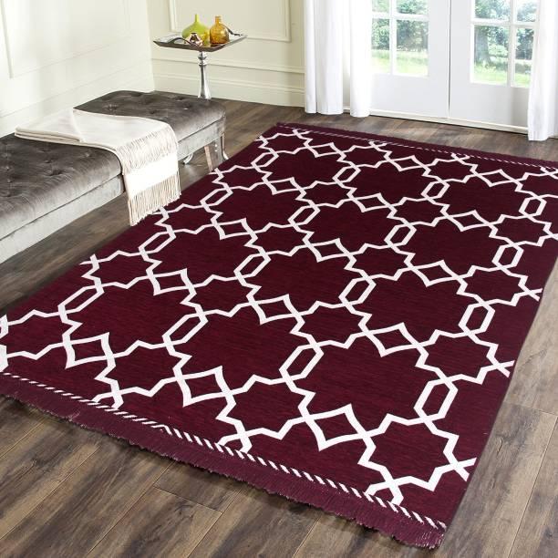 Flipkart SmartBuy Multicolor Chenille Carpet