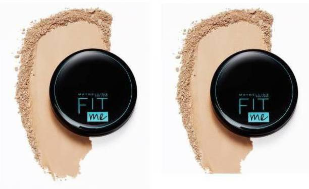 MAYBELLINE NEW YORK Natural Ivory 112 Compact Powder Pack Of 2 Compact