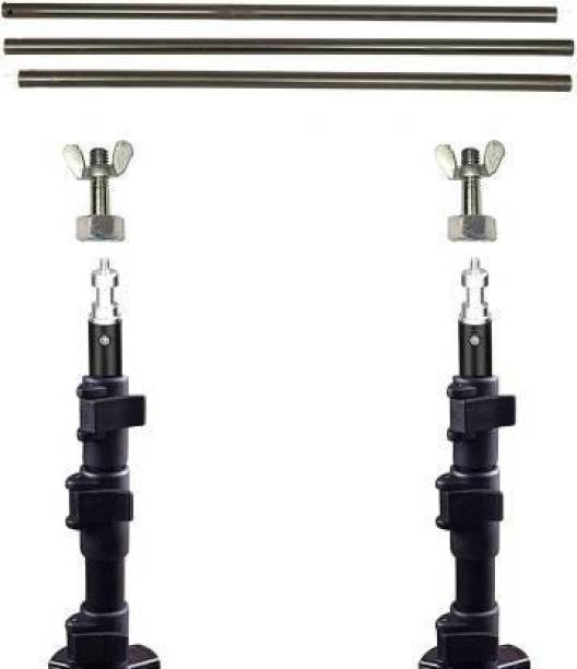 GiftMax Black Curtain Rods