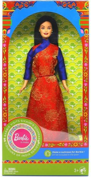 BARBIE In India visits Sikkim�s Gompas